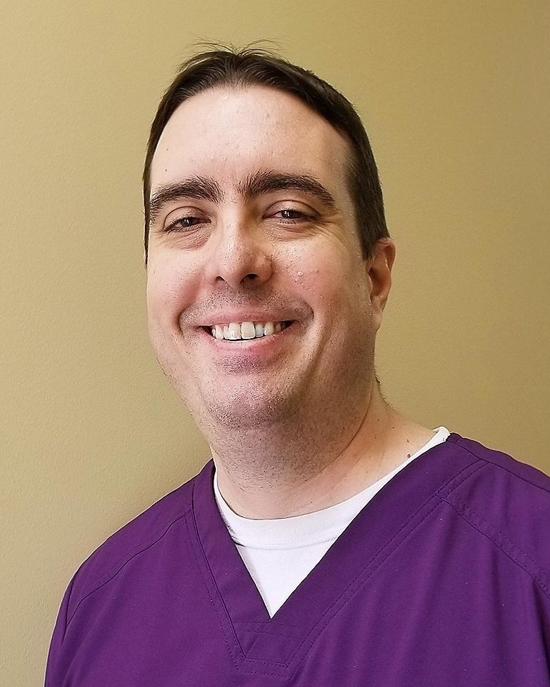 Headshot of Dr Gregory Edens Jr. DMD, a dentist in Lexington KY