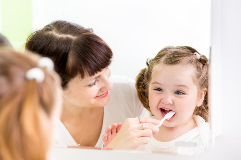 Treating Child | FAQ | Garden Springs Dental